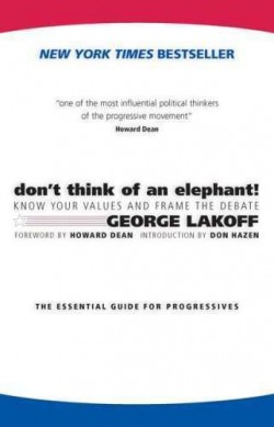 George Lakoff: don't think of an elephant